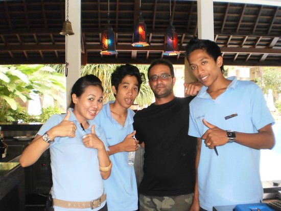 The Breezes Bali Resort & Spa :                                     Bar Staff