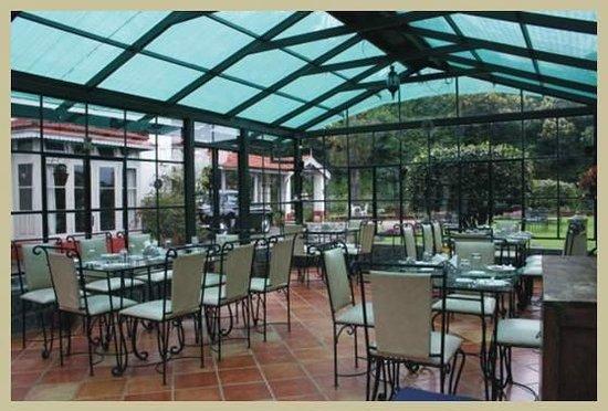 King's Cliff: Glasshouse Restaurant