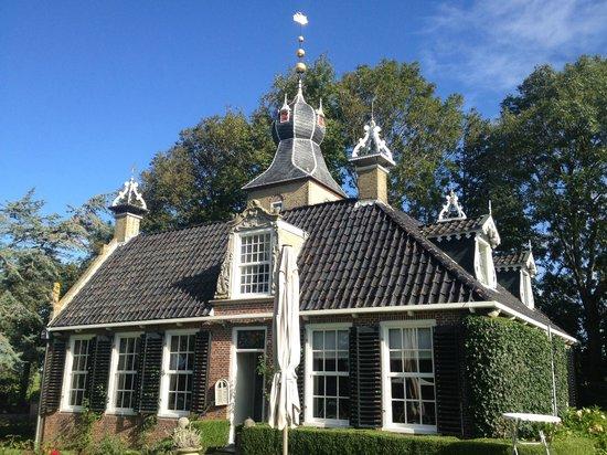 Allingawier, Niederlande: The main building of LAndgoed (Estate) Allingastate