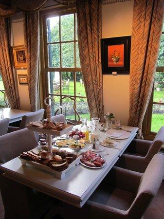 Landgoed Allingastate: Breakfast in the main building