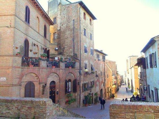 vicoli antichi di Certaldo Alta, Città Vecchia