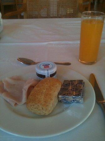 Incosol Hotel and Spa: petit déjeuner diététique