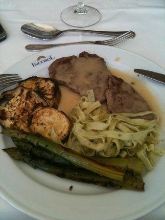 Incosol Hotel and Spa: repas diététique de midi