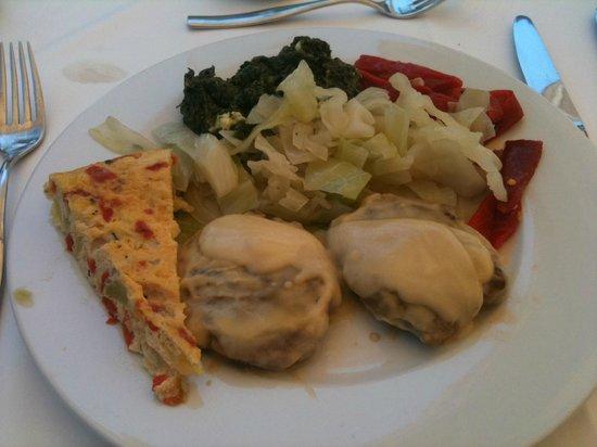Incosol Hotel and Spa: Repas de midi diététique