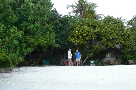 Makunudu Island: Our house