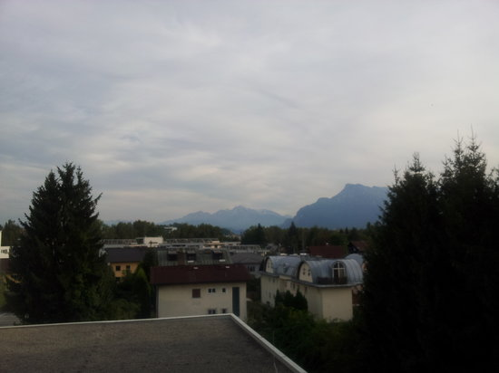 Arena City Hotel Salzburg : not much of a view