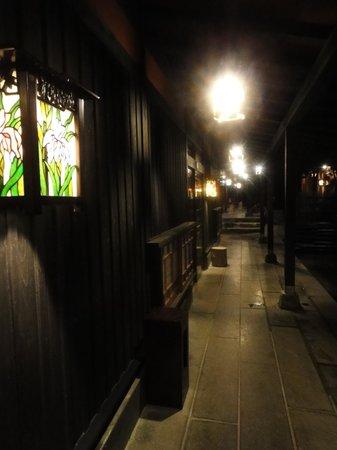 Ichiboku Isso: 廊下