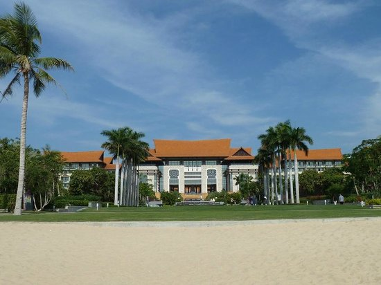 Renaissance Sanya Resort & Spa:                   Hotel compound