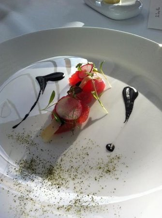 Muse Restaurant:                   presentation
