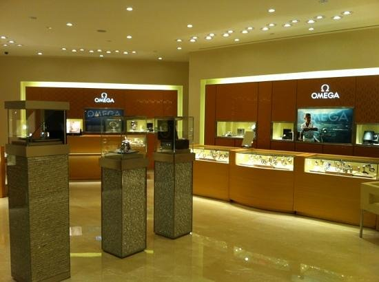 DFS Galleria at Scotts Walk: omega boutique