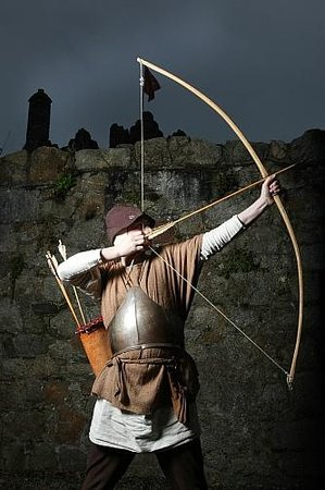 Dalkey Castle and Heritage Centre : The Archer at Dalkey Castle