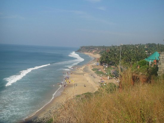 Karthika Plaza Resort:                   Nice view from the top of Varkala cliff