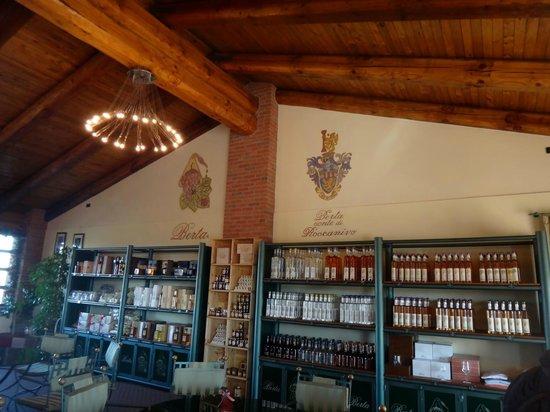 Distillerie Berta: Il negozio