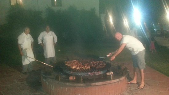 Los Pinos Resort & Spa Termal: Asador