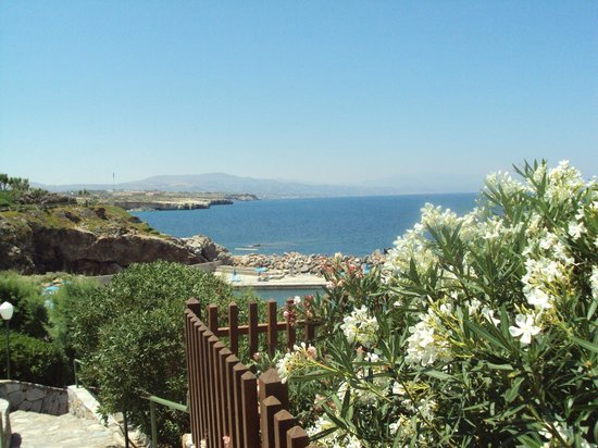 Iberostar Creta Panorama & Mare:                   Picture from out of the garden