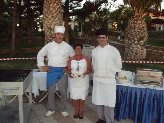 IBEROSTAR Creta Panorama & Mare:                   Greek hospitality at Greek barbecue