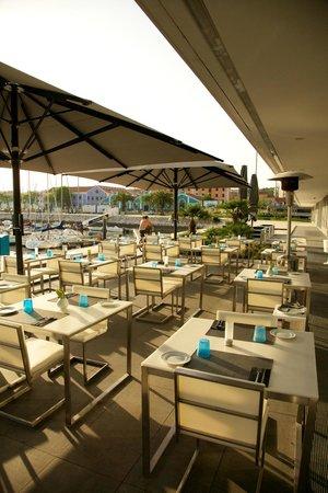 Altis Belém Hotel & Spa: Esplanada Restaurante Cafetaria Mensagem