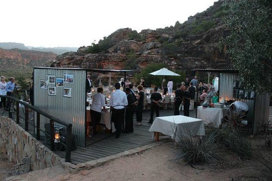 Bushmans Kloof Wilderness Reserve & Wellness Retreat:                   New Years Party with different Food Stalls