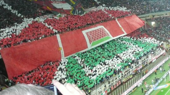 Stadio Giuseppe Meazza (San Siro): During the Derby Milan-Inter