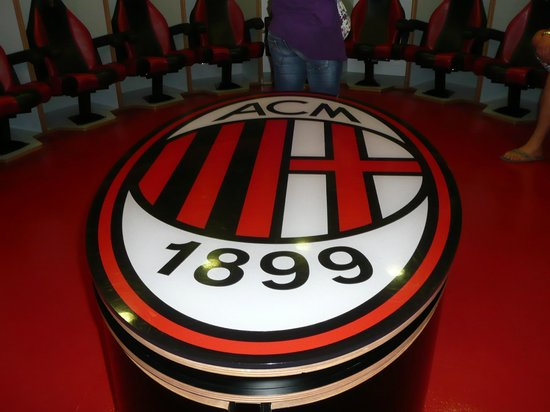 Stadio Giuseppe Meazza (San Siro): Milan dressing rooms