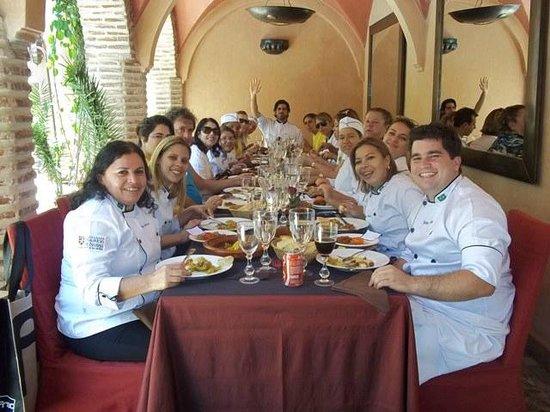 La Maison Arabe:                   Depois do nosso curso de culinaria no La Maison