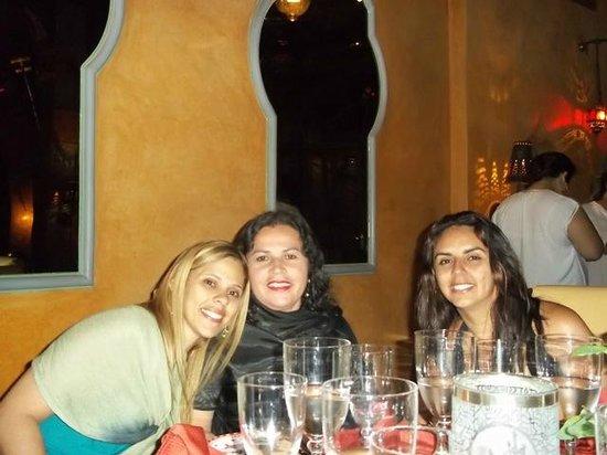 La Maison Arabe:                   Jantar maravilhoso!!