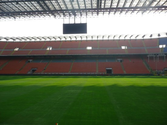 Stadio Giuseppe Meazza (San Siro): Stadium Tour by day