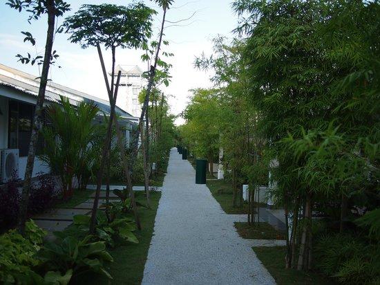 Sekinchan, Malaysia: Hotel common area