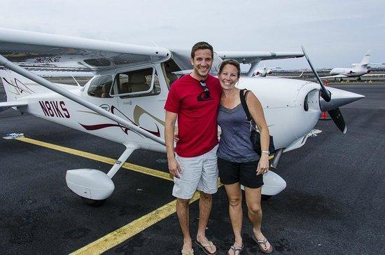 Iolani Air Tour Co.:                   Our plane                 