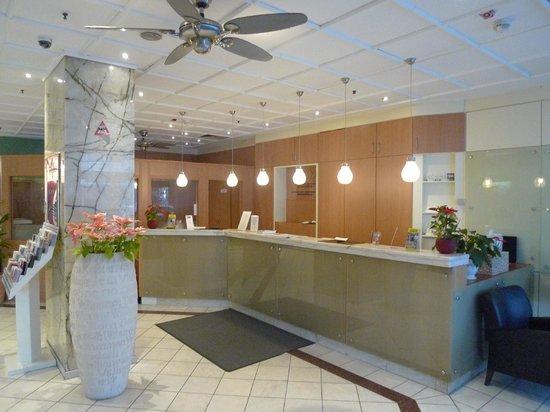 Savoy Hotel Frankfurt: The lobby