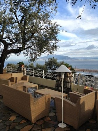Grand Hotel Aminta: per una chiacchiera all'aria aperta