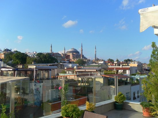 Ferman Hotel:                   View from the rooftop