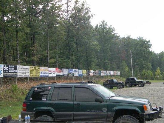Superlift Off Road Vehicle Park: Parking Lot