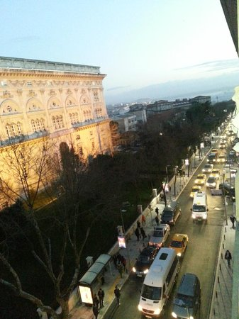 Park Hyatt Istanbul - Macka Palas:                   The view from our room (605)