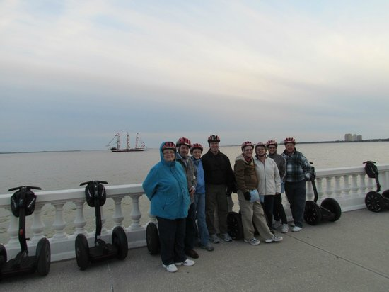 Electric Glide Tours :                   Chilly but lots of fun.