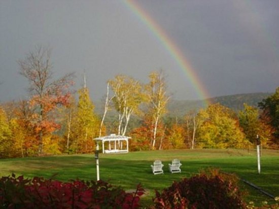 Inn at Clearwater Pond: Relax in the backyard and enjoy the view!