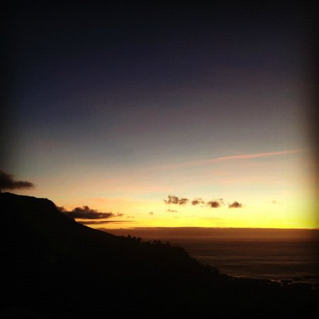 Atlantic Suites Camps Bay:                   Views after sunset