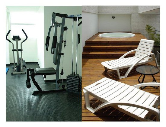 Affinity Aparta Hotel: Gym, Sauna, Turkish and Jacuzzi