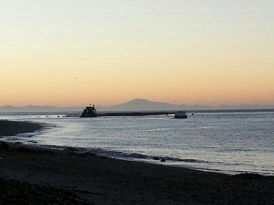 Isla Chiloe, Chile: amanecer, playa la Barra, Quellón-Chiloe...