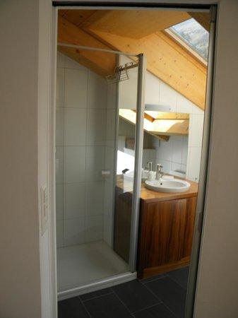 Dusche 4 Zimmer Wohnung Haus Esplanade