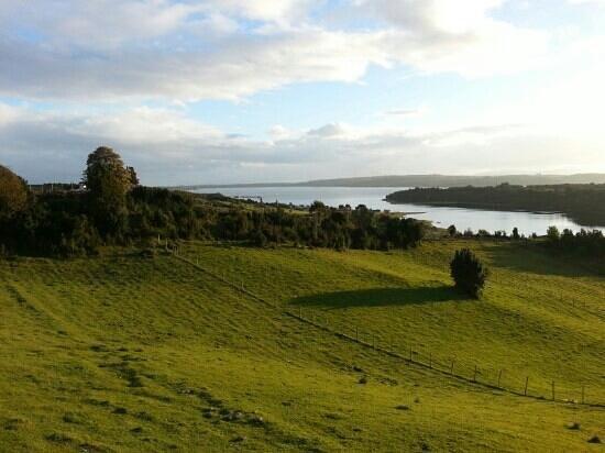 Isla de Chiloé, Chile: Sector Oqueldan en Quellon isla de Chiloe
