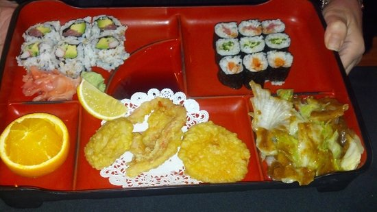Yamafuji Japanese Restaurant: Roll Box Lunch Special $5.95