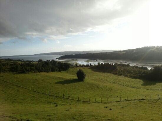 Isla de Chiloé, Chile: río oqueldan, Quellón - Chiloe