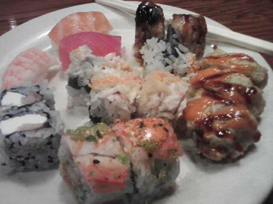 Habachi: Sushi from the Buffet