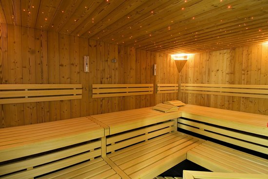 Amber Apartments : Sauna