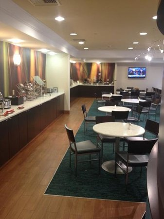 SpringHill Suites Williamsburg:                   breakfast