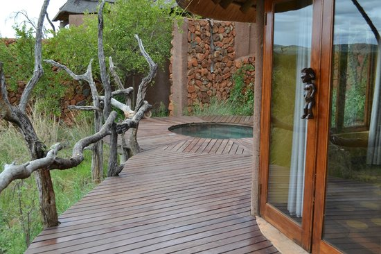 Madikwe Safari Lodge: Plunge pool