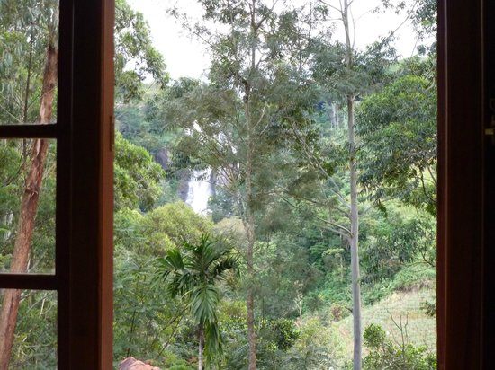 Waterfalls Homestay:                   View from our room