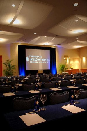 Presidente Inter-Continental Cozumel Resort & Spa: Meeting Room