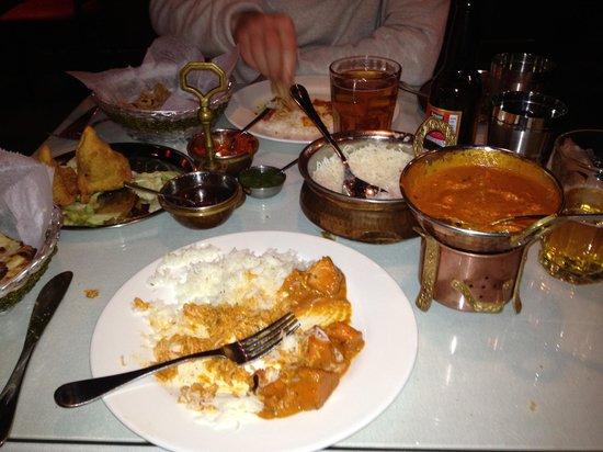 Raagini Indian Bistro:                   Great food